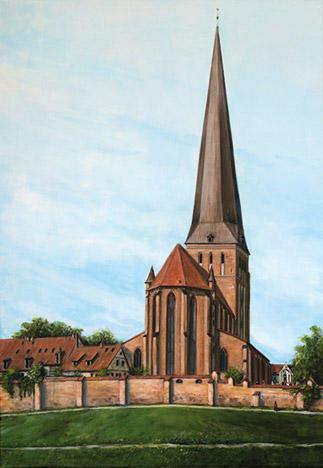 Ein schöner Tag (A beautiful day), Acryl 70 x 100 cm