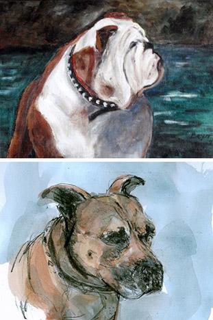 Tierportraits Gogo und Max